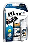Klear Screen iKlear Cleaning Kit for iPad, iPhone, Galaxy, LCD, Plasma TV, Computer Monitor and Keyboard (Cloth, Wipes and Spray)