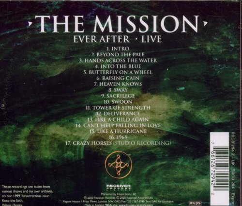 Ever After: Live by Receiver Records