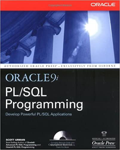 Buy oracle pl/sql programming 6ed book online at low prices in.