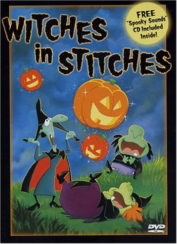 Witches In Stitches (abe) (Halloween Cartoons In French)