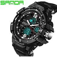 Orologio sportivo da uomo 2016orologio a LED digitale al quarzo orologi da polso uomo top brand di lusso digital-watch Relogio Masculino