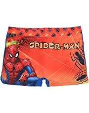 Spider-Man, zwembroek voor kinderen, oranje/blauw, van 3 tot 8 jaar