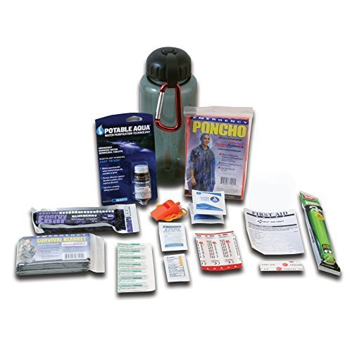 Ready America 70060 Deluxe Water Bottle Survival Kit by Ready America (Sport Volleyball Water Deluxe)