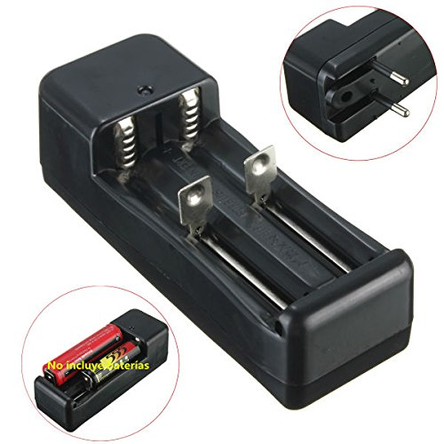 Lights & Lighting - Eu Plug 3.7v 18650/16340/14500/10440 Li-Ion Battery Dual Charger - 1PCs
