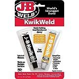J-B Weld 8276CAN KwikWeld Quick Setting Steel Reinforced Epoxy - 2 oz.