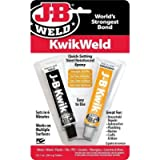 J-B Weld 8276CAN KwikWeld Quick Setting Steel Reinforced Epoxy - 2 oz.
