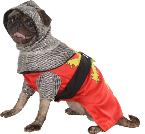 Rubies Costume Halloween Classics Collection Pet Costume, X-Large, Knight Sir Barks-A-Lot