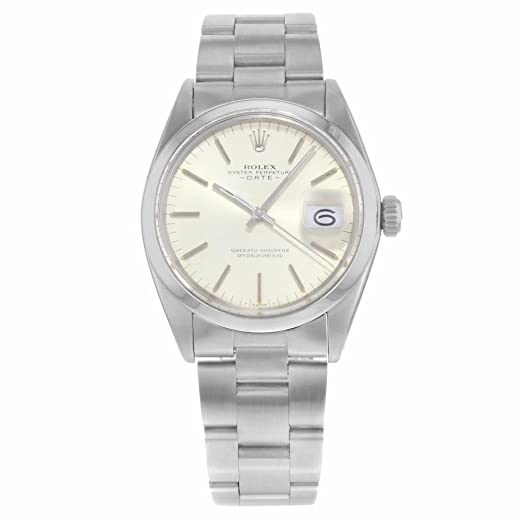 Rolex Fecha automatic-self-wind Mens Reloj 1500 (Certificado) de segunda mano: Rolex: Amazon.es: Relojes