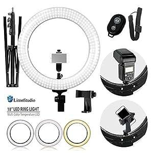 Amazon.com : LimoStudio LED Ring Light 18-inch Diameter