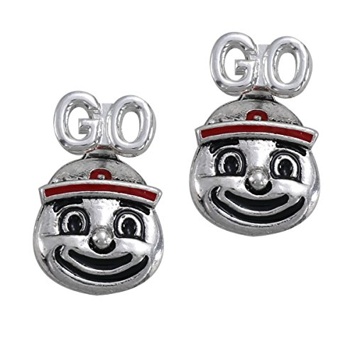 Brutus Buckeye Costume (Ohio State Buckeyes Brutus Logo Earrings)