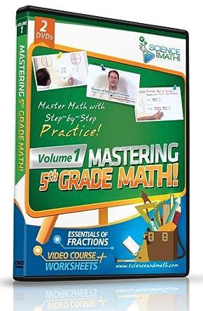 Amazon.com: Mastering 5th Grade Math - Vol 1 - Fractions - Video ...