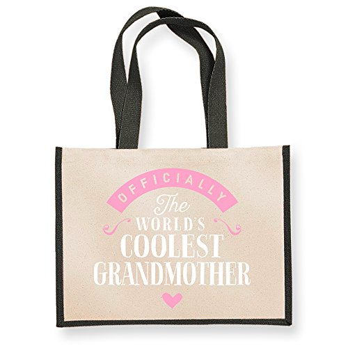 Grandmother Gifts Granddaughter Black From Birthday Bag Funny Gift