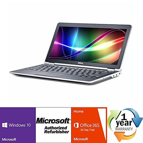 "Dell Latitude E6230 Intel i7 Dual Core 2900MHz Genuine Windows 10 Professional 64 Bit 320Gig Serial ATA 8192mb DDR3 NO OPTICAL DRIVE 12.0"" WideScreen LCD Microsoft Office 365 30-Day Trial Laptop (320 Gb Dual Core)"