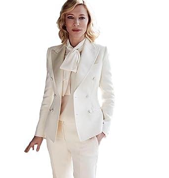 Women S Slim Fit Business Suit Peak Lapel Wedding Party Suit At