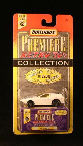 - TANZARA * 1997 MATCHBOX PREMIERE * Series 13 Retro 70's Collection 1:64 Scale Die-Cast Vehicle * Limited Edition 1 of 25,000 *