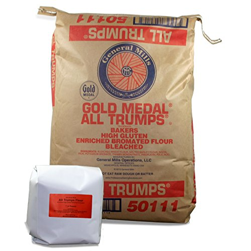 General Mills All Trumps High Gluten Flour - Bleached, Bromated, Enriched - 7 Pound Repack