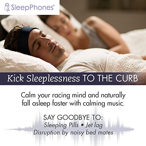 acousticsheep sleepphones sb6bm wireless bluetooth headphones for sleeping in midnight black. Black Bedroom Furniture Sets. Home Design Ideas