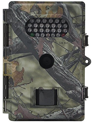 XIKEZAN Waterproof Trail Camera Low Glow Game Cameras 8MP 720P HD Infrared Night Vision Wildlife...