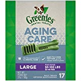 GREENIES Aging Care Large Size Dental Dog Treats, 27 oz. Pack