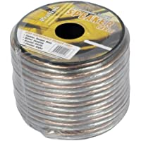 Luxtronic 16-Gauge Clear Speaker Wire / 100-ft.