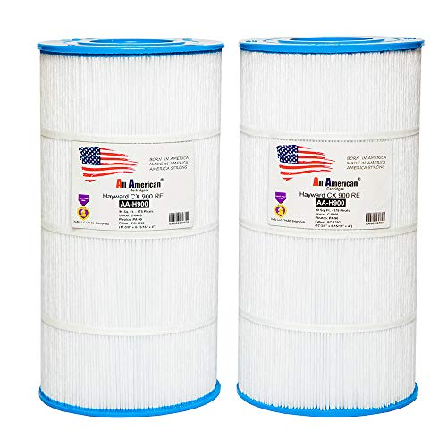 2 Pack Hayward CX900RE, Star Clear Plus C-900, Unicel C-8409, Pleatco PA90, Filbur FC-1292, All American AA-H900-2 Replacement Swimming Pool Filter Cartridge