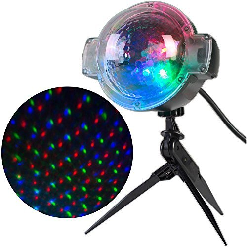 AppLights, 49658, LED Sparkling Stars-61 Programs Spot Light Projector