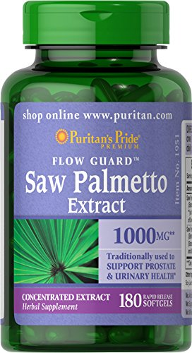Puritans Pride Palmetto mg 180 Softgels product image