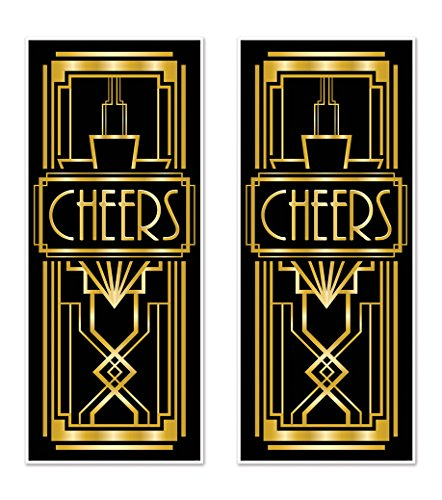 Gatsby Decoration - Beistle 59903 2 Piece Great 20's