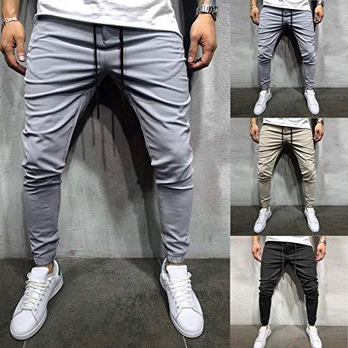 2018 Survêtement Pantalon Sport Points Sport Slim Sexy Casual Homme luckycat Amincissant De Fit Neuf Beige Pantalons RwpUxOq6