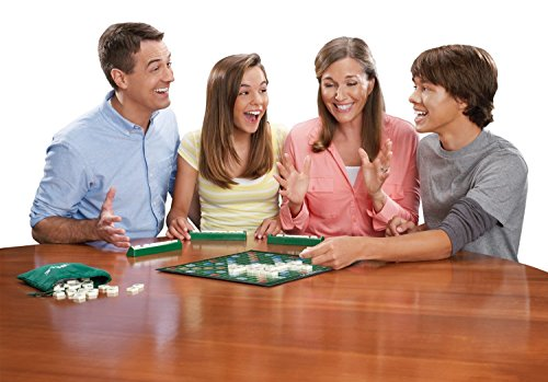 Mattel Scrabble Family Board Game for 2-4 players