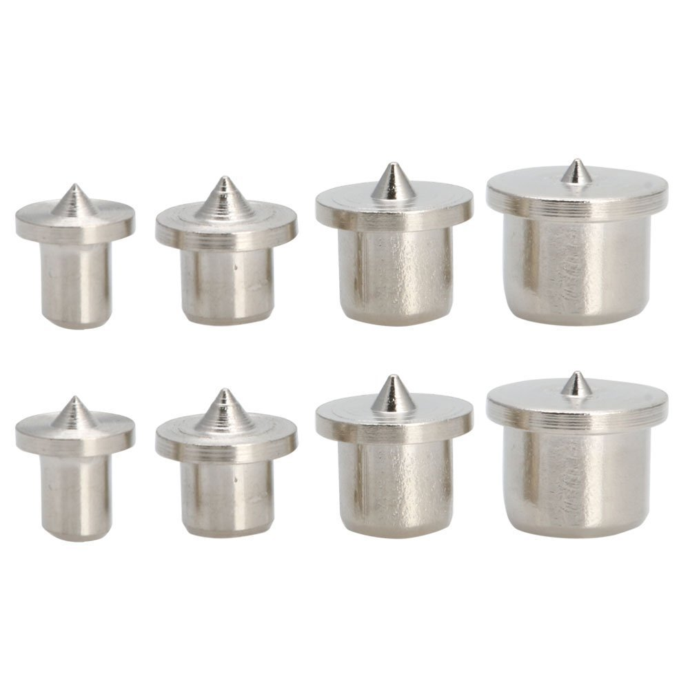 8 Pcs Dowel Pins Center Point Set Woodworking Craft Clamp Steel Tools Preamer