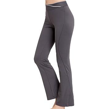 1ca4bfbd0c83 Sidiou Group Pantaloni da Yoga Donna Pantaloni da Ballo Pantaloni Fitness  da Donna Sportivi Pantaloni da
