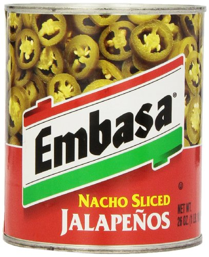 EMBASA Nacho Sliced Jalapenos, 26 Ounce ()