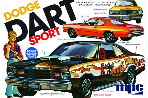 Model Power 1:25 '75 Dodge Dart Sport (Dodge Model Kits Trucks)