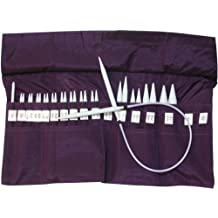 Denise Knitting Needles In A Della Q Case-Purple/ Sold as a pack of 1