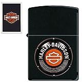 Harley Davidson Black Zippo Lighter