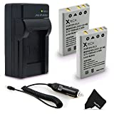 2 High Capacity EN-EL5 Batteries and Charger Kit for Nikon CoolPix 3700 4200 5200 5900 7900 P35 P45 P80 P90 P100 P500 P510 P520 P530 P5000 P5100 P6000 S10 Cameras