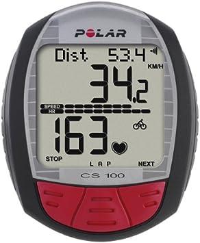 Polar ciclismo-ordenador con cinturón CS100: Amazon.es: Deportes y ...