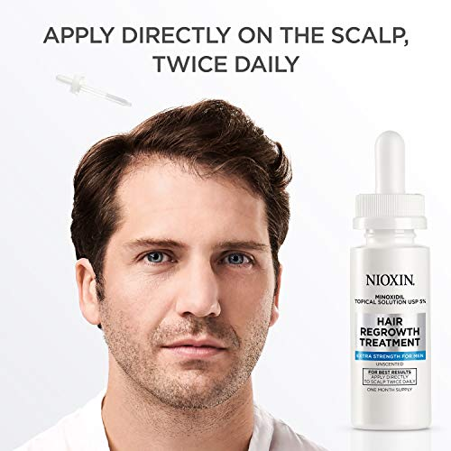 Nioxin Minoxidil Hair Regrowth Treatment Men, 6 oz. by Nioxin (Image #7)