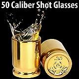 The Original 50 Cal Shot Glass, Set of 2 Shot