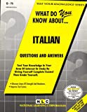 What Do You Know about Italian? 9780837370750