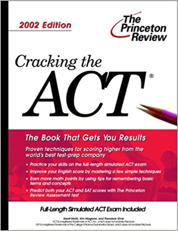 Amazon in: Buy Cracking the ACT, 2002 Edition (College Test