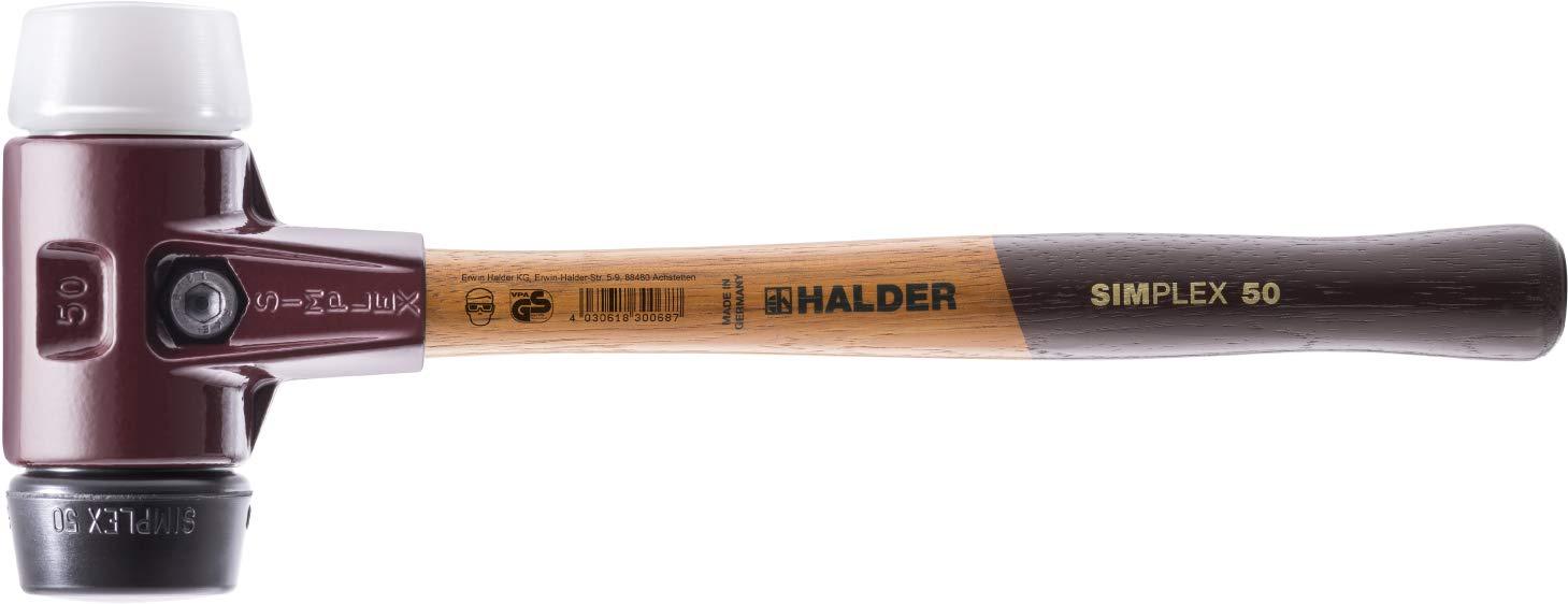 SIMPLEX-Schonhämmer, mit mit mit Stahlgussgehäuse und hochwertigen Holzstiel   Ø60 mm   3027.060 B008XHQEIO | Fein Verarbeitet  4027f7