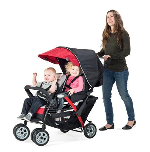 Childcraft The Duo Sport 2-Passenger Stroller, Red