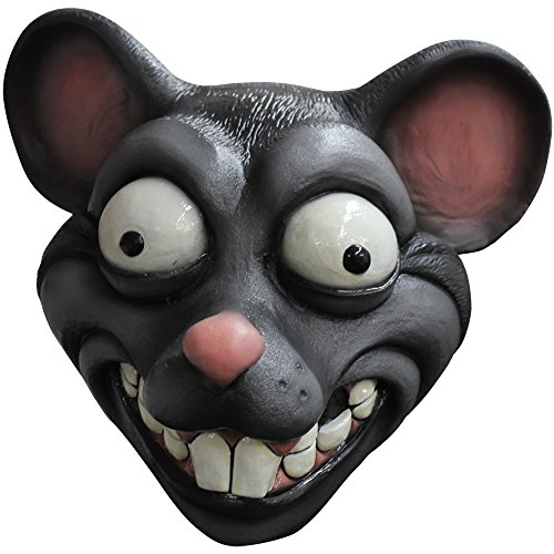 Ghoulish Masks Adult Cartoon Rat Halloween Animal Mask