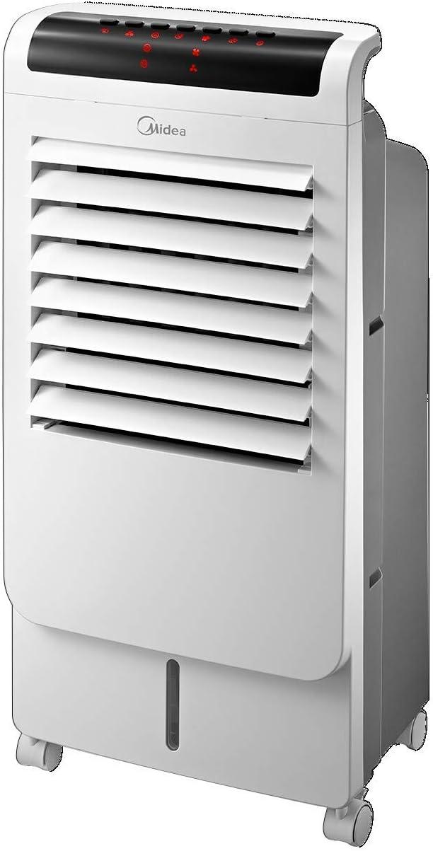 مبرد هواء باور 60 واط مع جهاز تحكم عن بعد، أبيض، 11.3 باوند ، Ac120-15C