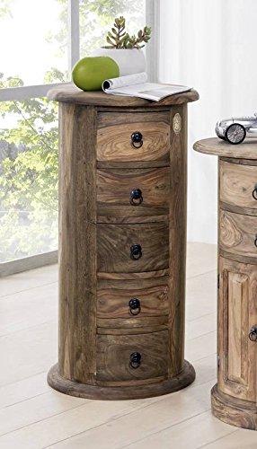 Möbel kolonialstil  MASSIVMOEBEL24.DE Möbel massiv Holz Palisander geölt grau Kommode ...