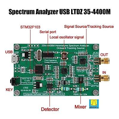 Spectrum Analyzer USB LTDZ 35-4400M Spectrum Signal Source RF Frequency