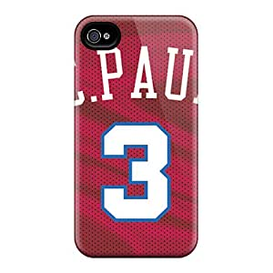 Excellent Hard Phone Cover For Iphone 6plus With Support Your Personal Customized Realistic Los Angeles Clippers Pictures RudyPugh
