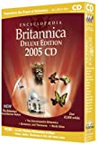 Encyclopedia Britannica 2005 Deluxe CD